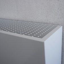 Radiatorbekleding wit 190 millimeter diep